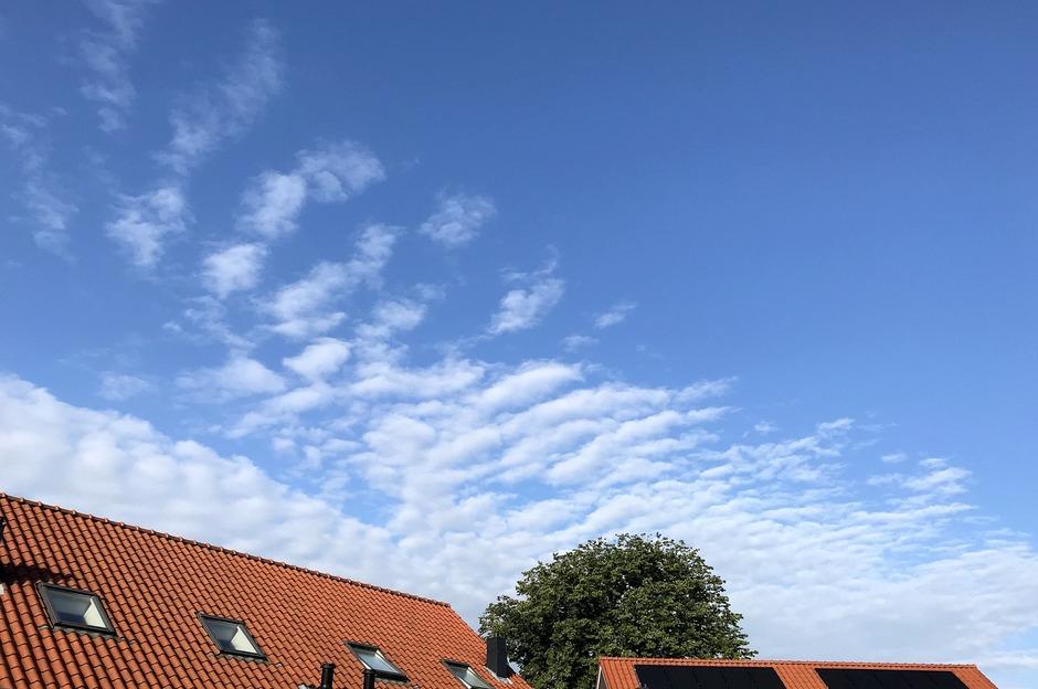 Wolkenveldje.