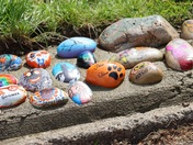 Covid The Cobra stones embedded in Hylands Park