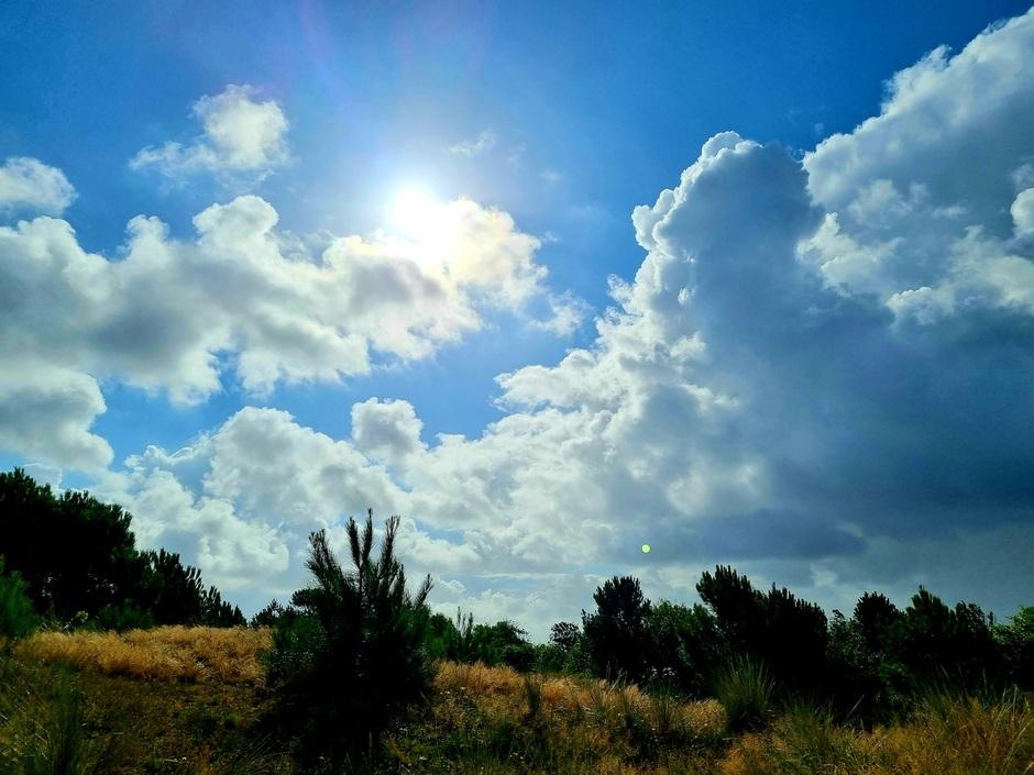 Hollandse luchten/zon