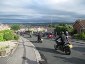 School Prom Motorcycle Escort