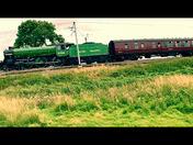 The MayFlower racing through Barham Suffolk