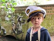 Banksy Boat Boy