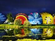 Night time balloon festival - Old Buckenham