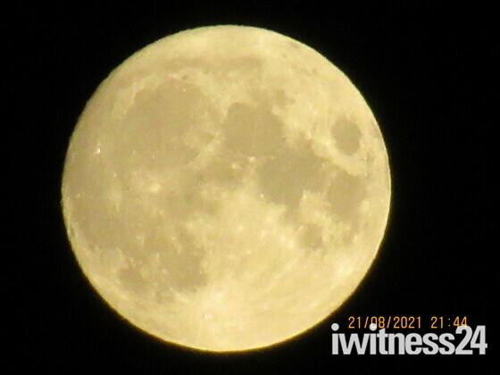 Almost 'full moon'