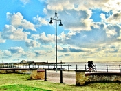 Seafront Cyclist