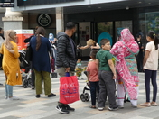 Puppet show on Ilford high road
