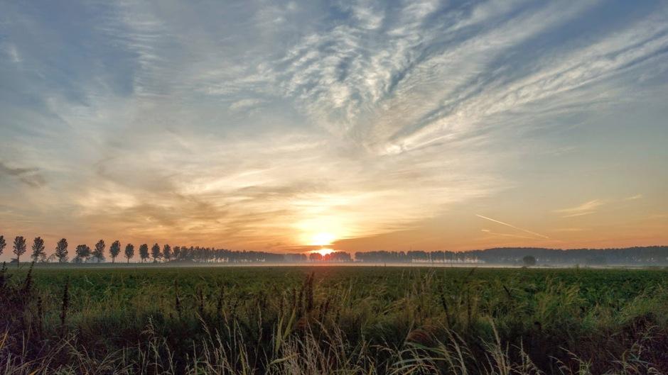 zonsopkomst Wolphaartsdijk