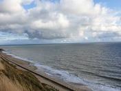 Mundesley beach walk