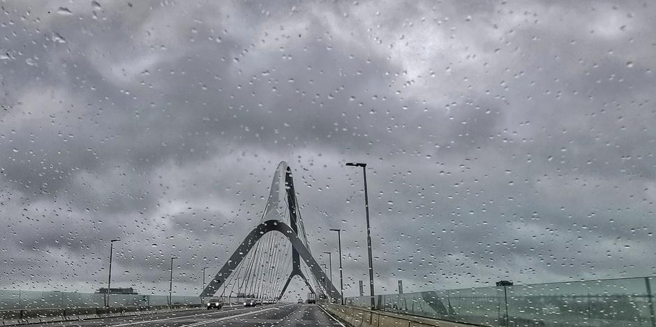 Grijs en regen vandaag