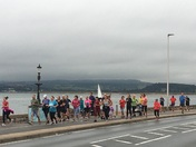 Exmouth parkrun brightens up a dull and overcast morning