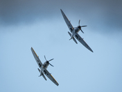 Spitfires at Sidmouth