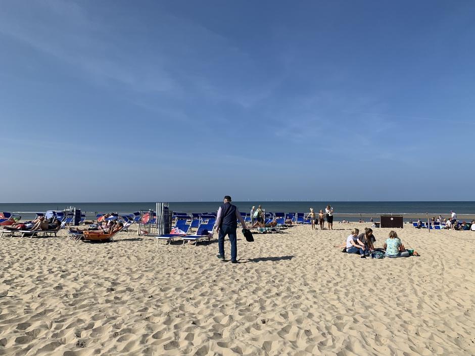 Mooi strandweer