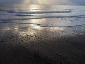 Sunrise over Hemsby beach