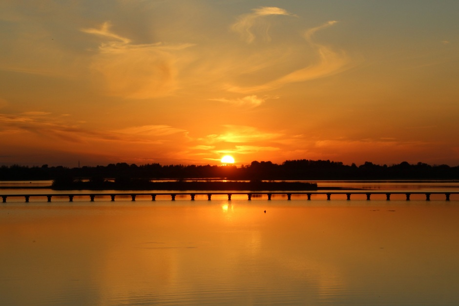 Bloedmooie zonsondergang foto6