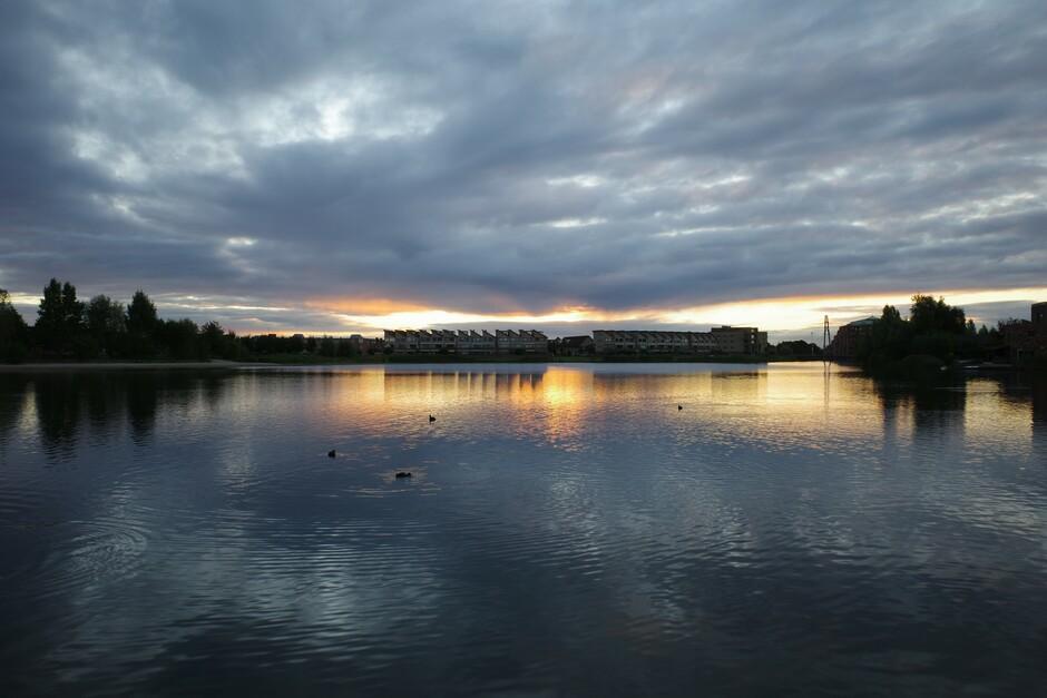 Zonnige start van de dag met de nodige wolkenvelden