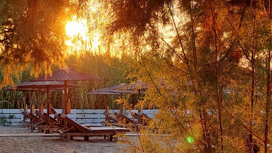 De start van een zonnige en warme dag op Zakynthos