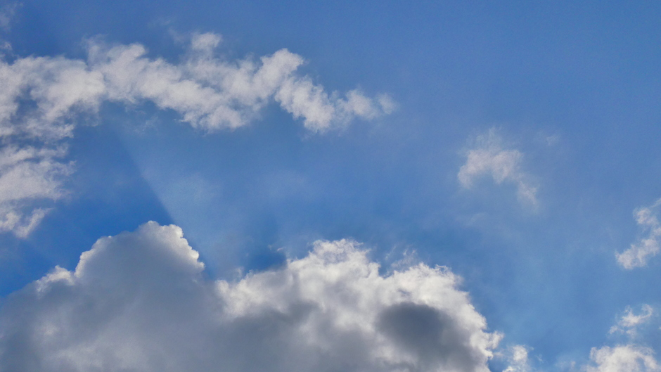Wolkenlucht boven Ermelo