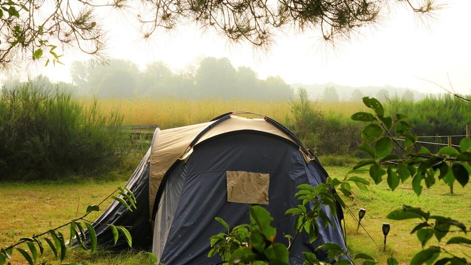 Heiig begin op de camping