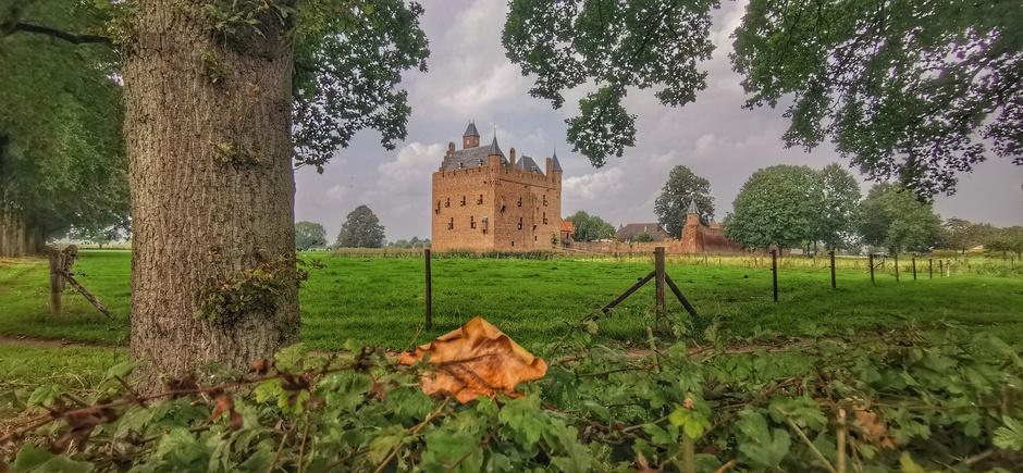 Herfst/halloweensfeertje vandaag bin het kasteel