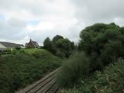 """South Western Railway"" line through Honiton"