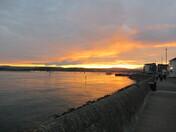 Exmouth Esplanade @ sunset