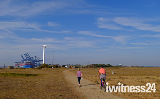 Landguard walk
