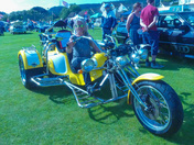 One of the last 4 Harley Davidsons with a current MOT, possibly the only yellow one