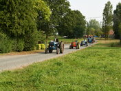 Easter Sunday Tractor Road Run