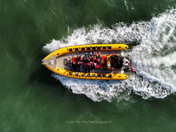 Jet Adventure boat of the Norfolk Coast ….