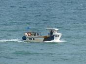 PROJ 52. LIFE ON WATER.  FISHING BOAT AT CROMER