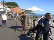 A glorious day at the seafront