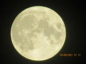 Harvest Full Moon 20 September 2021