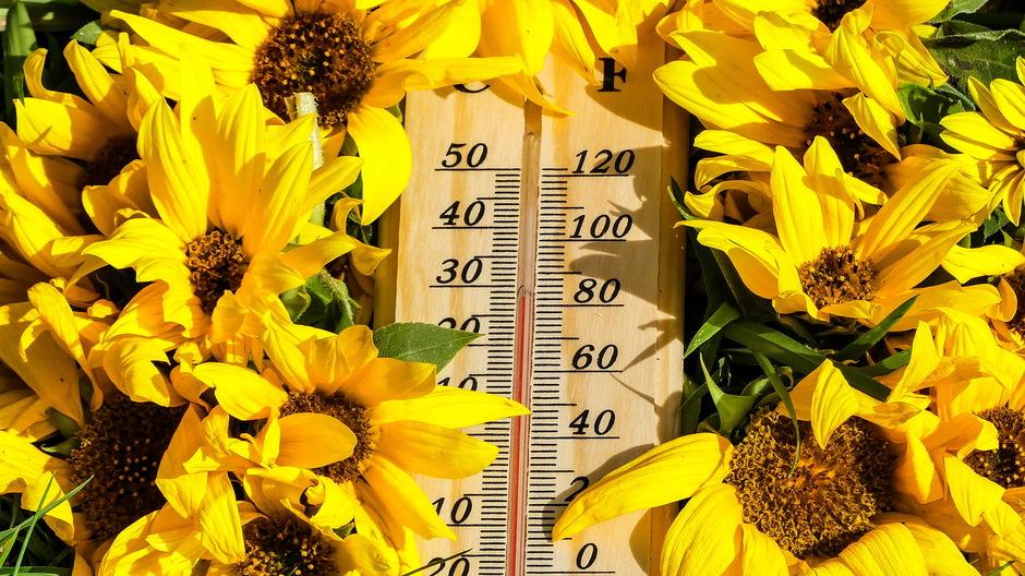 Herfst begint met zomerse temperatuur