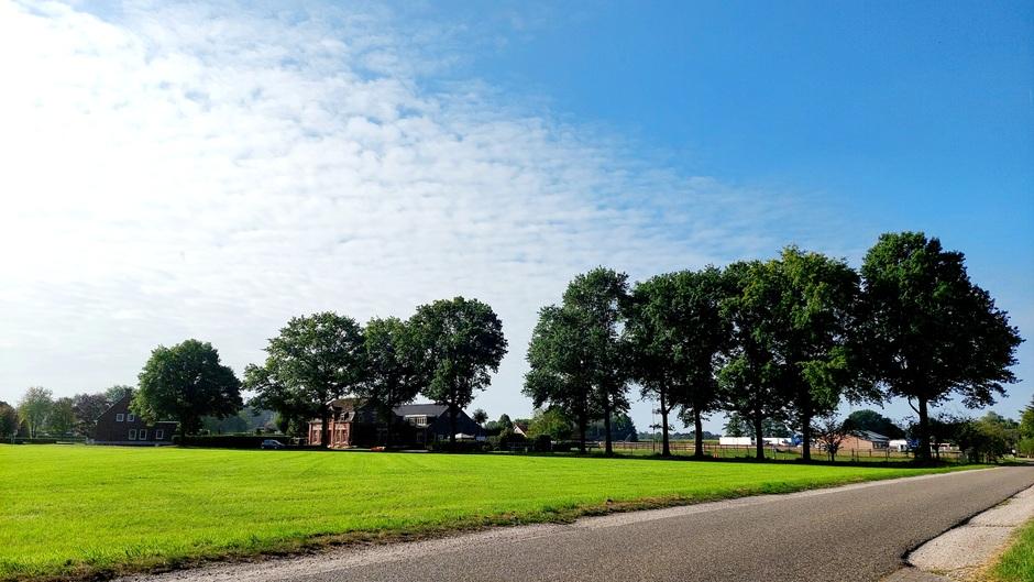 Al volop zon in z.w. Brabant.
