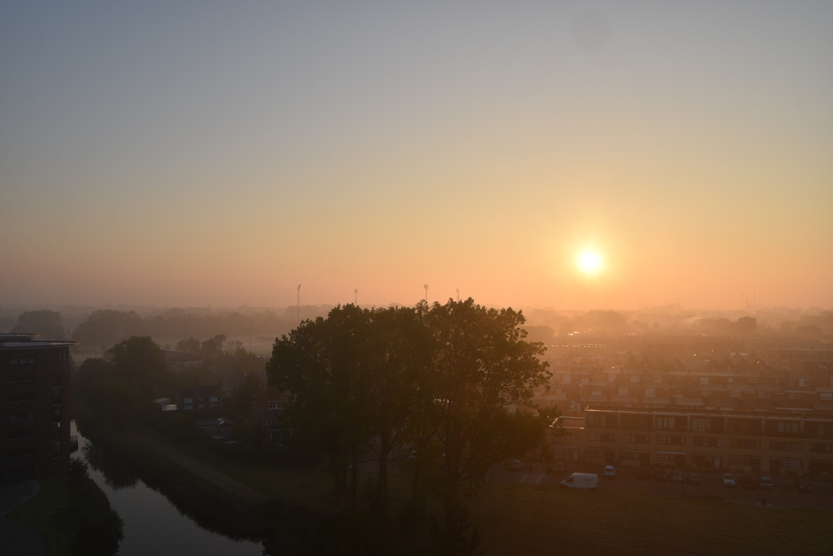 Heiige zonsopkomst
