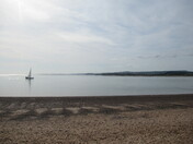 Exmouth Esplanade on a sunny afternoon