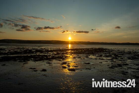 Sun Set over the Ex Estuary