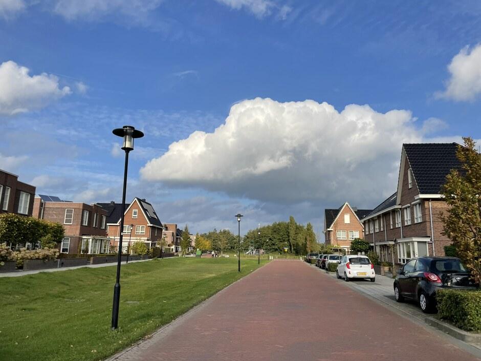 Mooie wolkenluchten.