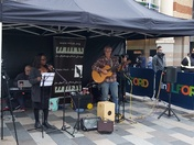 Artwork, Entertainment and Music in Ilford Town Centre
