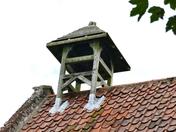 PROJ 52. LOOKING UP.  BELL TOWER AT WATERDEN CHURCH, WATERDEN