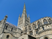 PROJ 52. LOOKING UP.   AT  NORWICH CATHEDRAL