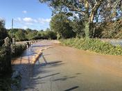 Flood at Otterton
