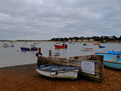 Cloudy day at Felixstowe